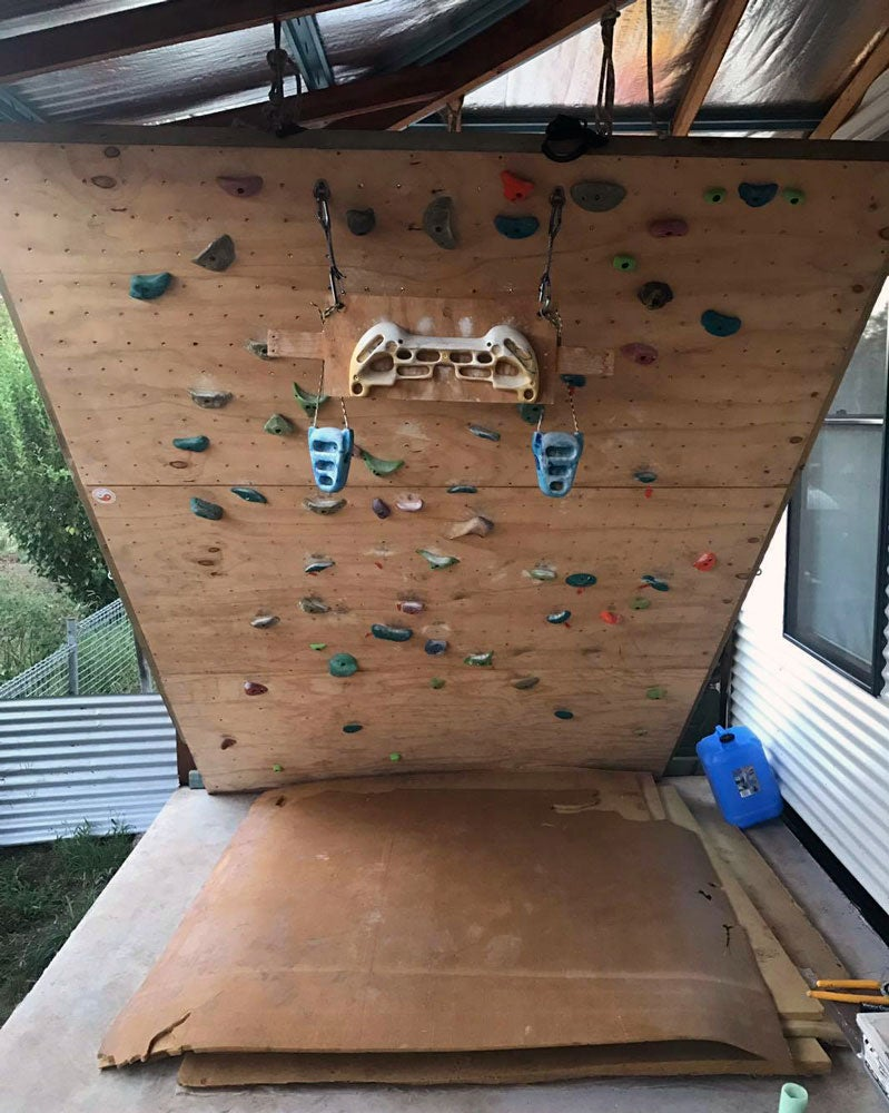 Photo gallery show us your woody home climbing walls