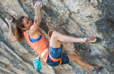 Anak Verhoeven On Making the First Female 5.15a First Ascent