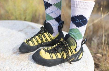 Is It Okay to Wear Socks with Rock Climbing Shoes?
