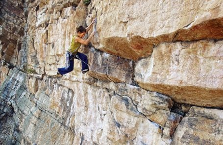 Gunks Climber Raps Off End of Rope