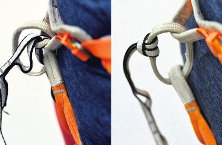 What's the Correct Way to Girth Hitch to Your Harness?