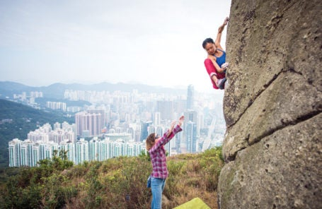 The Bennies of Climbing with Women