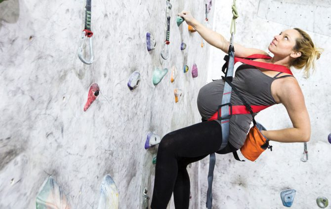 What to Expect When Expecting - Rock Climbing While Pregnant