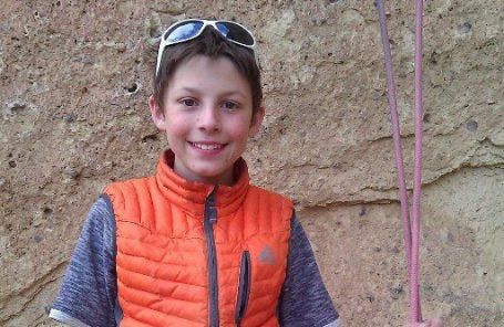 13-Year-Old Drew Ruana Climbs To Bolt or Not to Be (5.14a)