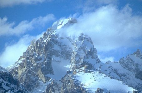 First Ski Descent of Grand Teton North Face