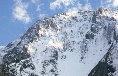 Two Climbers Killed on Les Droites in Chamonix