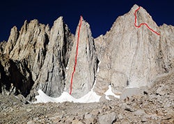 Storming Castles: New Routing in the High Sierras
