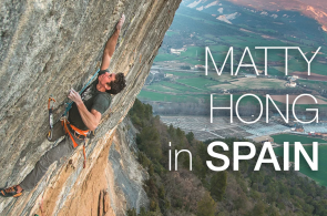 Matty Hong Sending La Rambla (5.15a) and Joe Mama (5.15a) in Spain