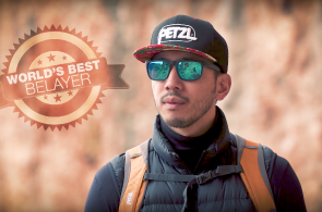 VIDEO: The World's Best Belayer and
