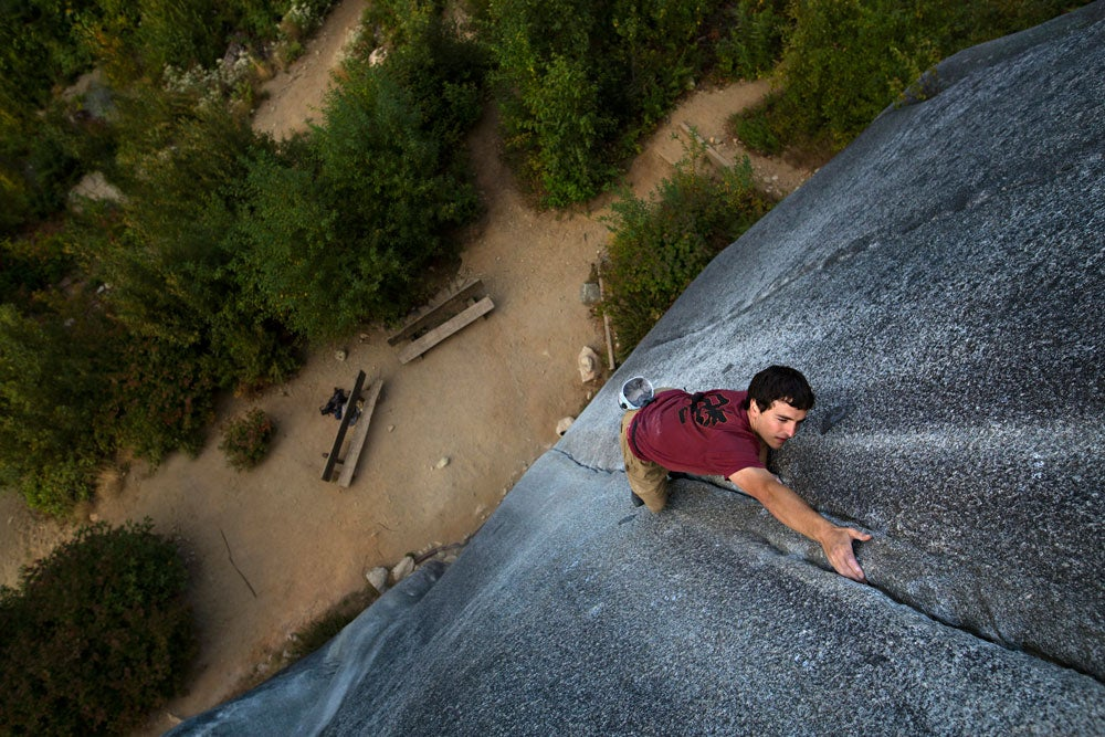 Brad Gobright. Photo: Dan Krauss / REEL ROCK.