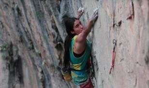 Fery Rodríguez Climbing 5.14a in El Salto, Mexico