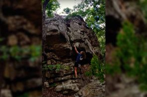 Weekend Whipper: Alabama Backwoods Bouldering Fail