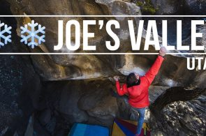 Daniel Woods + Paul Robinson - A Few Cold Days Bouldering In Joe's Valley