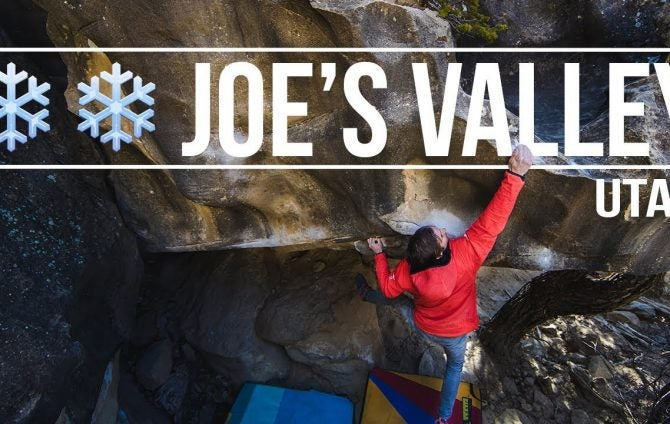 Daniel Woods + Paul Robinson - A Few Cold Days Bouldering In Joe's Valley