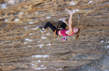 Claire Buhrfeind's Phenomenal Week in the Red River Gorge