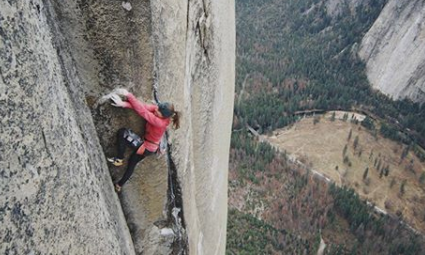 Babsi and Larcher Repeat Magic Mushroom (VI 5.14a) on El Cap