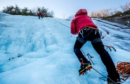 Bomb Cyclone Brings Rare Ice Climbs to the East Coast