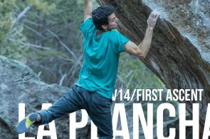Paul Robinson's First Ascent of La Plancha (V14)