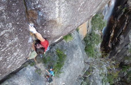Logan Barber Establishes Hardest Pure Crack Climb in the Land Down Under