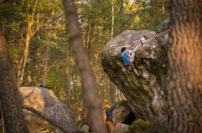 Sandscapes: Jimmy Webb and Keenan Takahashi in Fontainebleau
