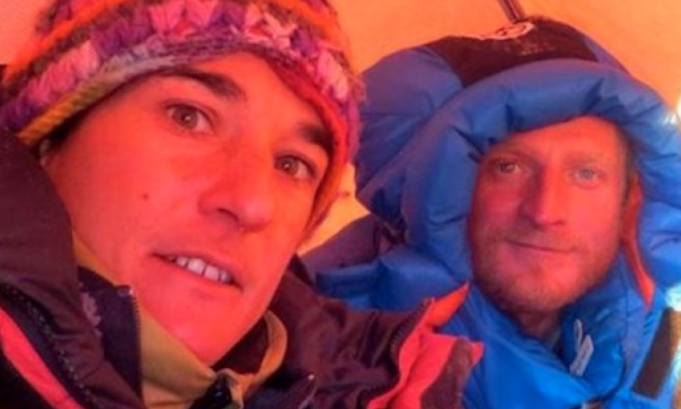 French mountaineer rescued on 'Killer Mountain' but Polish man missing