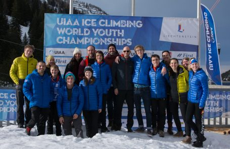 U.S. Team Performs at the 2018 UIAA Ice Climbing World Youth Championships