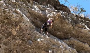Weekend Whipper: Learning to Crawl (5.12c), Reimer's Ranch, TX
