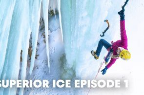 Climbing Frozen Waterfalls Just North of Detroit | Superior Ice: Episode 1