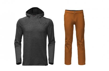 First Look: The North Face Beyond the Wall Collection - Men's Hoodie and Rock Pants