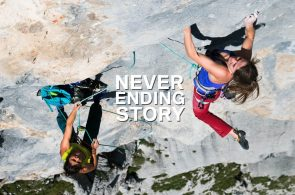 Barbara Zangerl and Nina Caprez Climb The Neverending Story (5.14a)