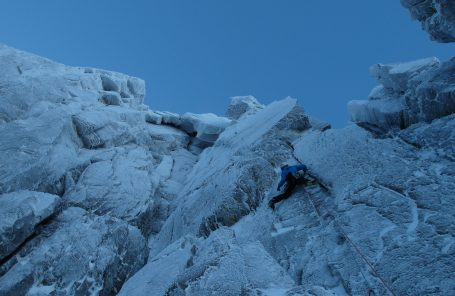 Wide Boy Does Winter: Pete Whittaker on Learning to Climb Ice
