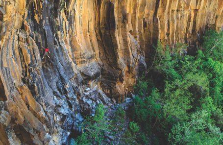 New Basalt Paradise: Arizona's Oak Creek Waterfall