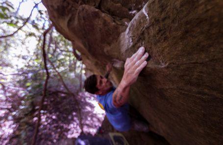 Bouldering Blind: Justin Salas, Adaptive Climber, Sends V11