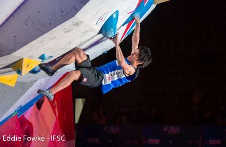 Japan and Slovenia Sweep Bouldering Medals at Moscow World Cup