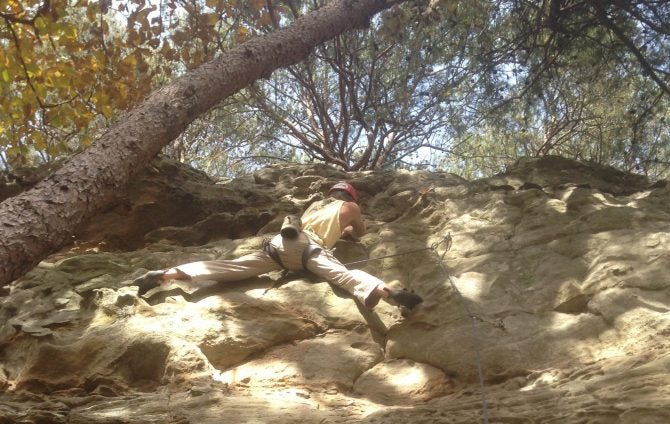 My First Free Solo