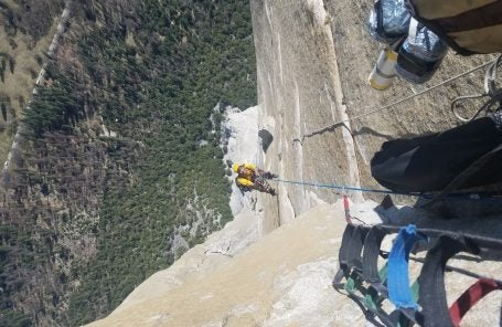 Ephemeron (VI 5.10 A4): New Route on El Cap by Adams and Wickstrom