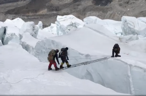 Weekend Whipper: Crevasse Chaos on Everest
