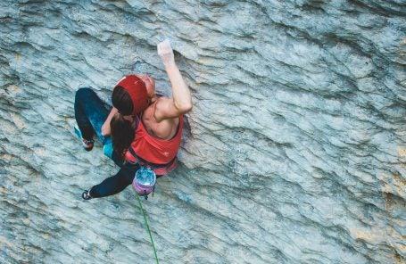 Babsi Zangerl Crushes Her First 5.14d in Switzerland