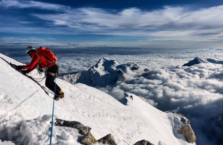First Ascent of Janhukot (6,805 m) in the Himalaya