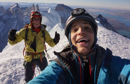 New Route and Fifth Overall Ascent of Cerro Paine Grande in Patagonia