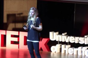 TEDx - Mina Leslie-Wujastyk: Finding Determination in Uncertainty