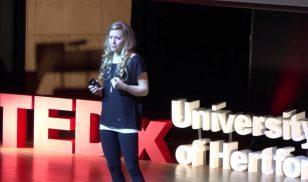 TEDx - Mina Leslie-Wujastyk: Finding Determination in Uncertainty