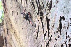 Weekend Whipper: Devilish Fall on Diablo (5.11d), Red River Gorge, KY