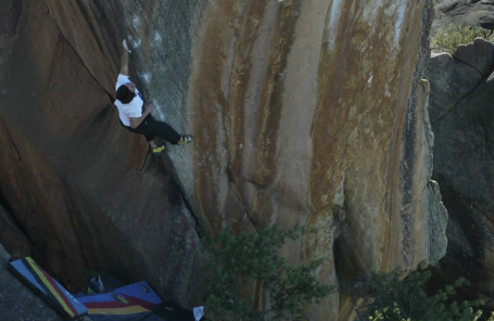 Shawn Raboutou Nabs Fourth Ascent of The Finnish Line (V15/16) in Rocklands
