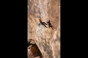 Weekend Whipper: Mr. Choad's Wild Ride (5.11b), Red Rocks, NV