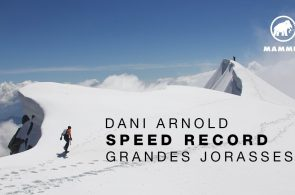 Dani Arnold Sets Speed Record on Grandes Jorasses North Face