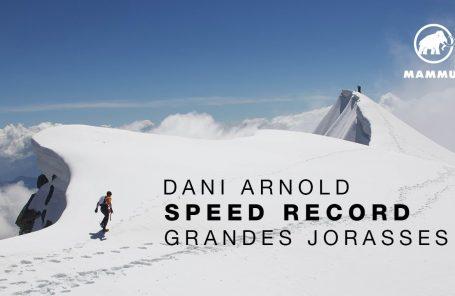 Dani Arnold Sets Speed Record on Grandes Jorasses North Face