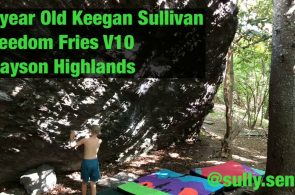 Keegan Sullivan (8 years old) Sends V10