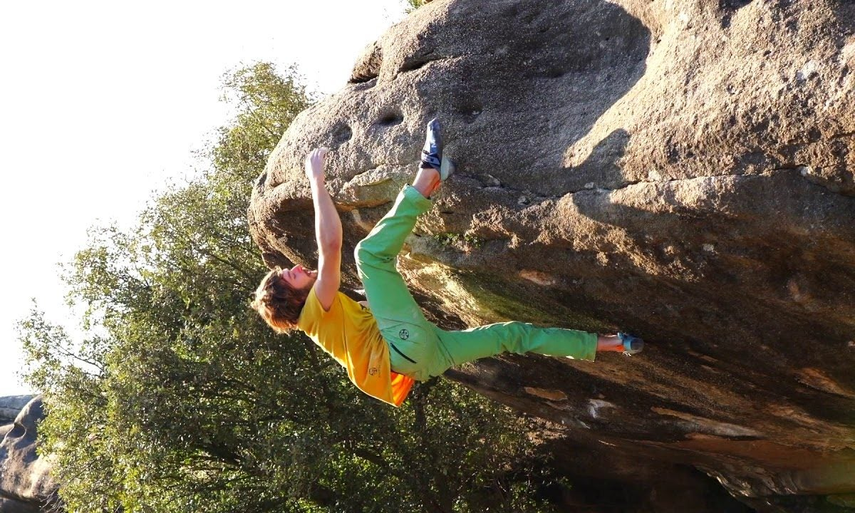 """Pol Roca on the FA of """"Purple Panther"""" (V15)"""