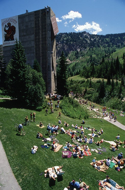 Snowbird world and national events were always fun outdoor mountain fests. Photo: Michael Kennedy.